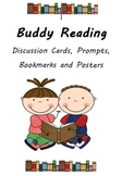 Buddy Reading discussion task cards, bookmarks and posters