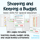 Budget Worksheets - Do you have Enough Money? for Special