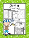 Spring Math & Literacy {PRINT IT NOW}