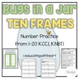 Bug in a Jar Tens Frames K.CC.5, K.NBT.1