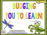 Bugging You To Learn!  Bugs Themed Math And Literacy Cente