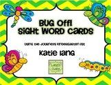 Buggy Sight Words for Posting Journeys Kindergarten Word List