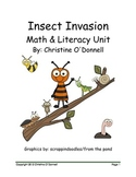 Bugs Math and Literacy unit: 110 pages of centers and worksheets
