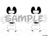 Build-A-Mouse Sight Words (Black and White Edition)