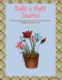 Build A Plant Journal