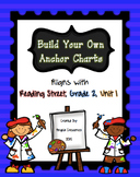 Build Your Own Anchor Charts (Reading Street, Grade 2, Unit 1)
