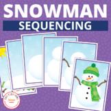 Build a Snowman Interactive Sequencing Activity: Winter Se