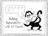 Building Automaticity With Ten Frames Kindergarten Mini Unit