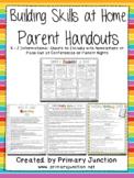 Building Skills at Home - Parent Handouts (English & Spanish!)