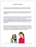 Building a Positive Classroom Climate: Inclusion Activity