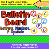 Bulletin Board Letters and Numbers Decoration