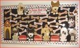 Bulletin Board: Math Fact Practice Dog Themed