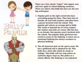 Bullying ~ Cyber & Real World ~ Laws + Quiz + Flash Cards