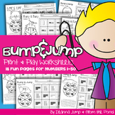Bump & Jump Numbers Fun!  {Easy, Differentiated Math Games}