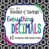 Bundled 4 Savings:  Everything Decimals