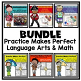Bundled Practice Makes Perfect Math and Language Arts