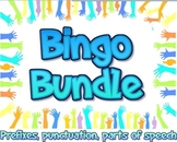 Bundle: English language arts bingo games