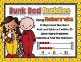 Bunk Bed Buddies: Working with Rekenreks