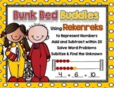Bunk Bed Buddies: Working with Rekenreks