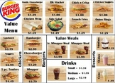 Burger King Money Menu Math