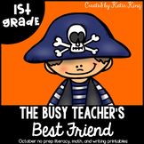 Busy Teacher's Best Friend: Halloween Edition