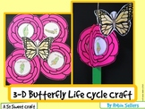 Butterfly Craft: {Life Cycle of a Butterfly 3D Craftivity}