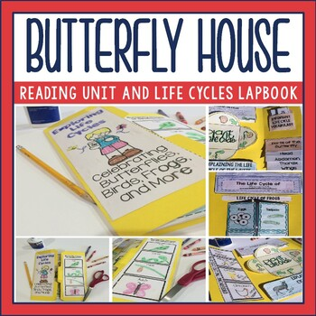 Butterfly House by Eve Bunting Guided Reading Unit