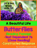 Butterfly Life Cycle - Close Reading - Informational Text