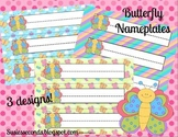 Butterfly Nameplates