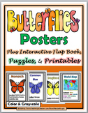 Butterfly Life Cycle Science and Literacy