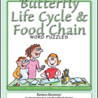 Butterfly Word Puzzles FREEBIE