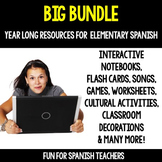 Buy My Entire Store - Year- Long Resources for Spanish Cla