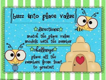 Buzz Into Place Value