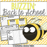 Back to School Bee Printables