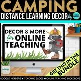 CAMPING THEME BUNDLE-classroom theme {printables)
