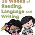 Third Grade Reading, Language, Writing Bundle, Units 1-6