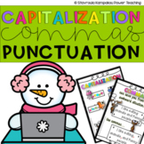 CCSS Grammar for 1st Grade - Capitalization, Commas and En