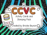 CCVC Words Activity Cards and Stamping Pack