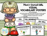 CELLS Visual Vocabulary Posters - Plant and Animal Cells