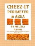CHEEZ-IT Perimeter and Area Activity, Pre-Test, and Post-test