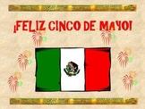 CINCO DE MAYO: 6 Decorative Slides Celebrating Cinco de Mayo!