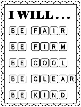 CLASSROOM MANAGEMENT *RULES *GUIDE *BELIEF *POSTER
