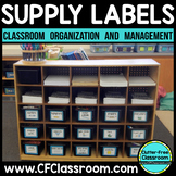 CLASSROOM ORGANIZATION LABELS School Supplies