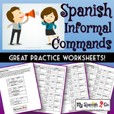 COMMANDS: (Informal)  Great practice worksheets!