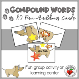 COMPOUND WORDS - PUN FUN Activity or Learning Center