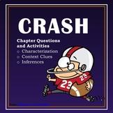 CRASH Novel Study - Characterization, Context,Clues, and I