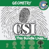 CSI: Geometry -- STEM Project -- Complete eBook