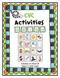 CVC Activities & Picture Cards