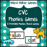 CVC Phonics Games