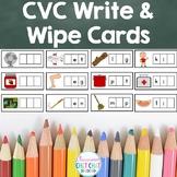 CVC Words Practice Cards {4 versions}
